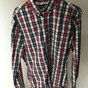 H&M Mens Button down shirt L